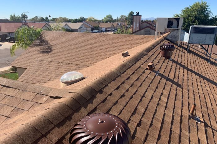 Whirlybird Attic Fan Installation