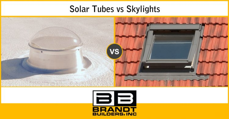 Sun Tubes vs Skylights